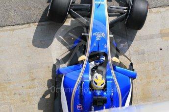 World © Octane Photographic Ltd. Formula 1 - Winter Test 1. Marcus Ericsson - Sauber F1 Team C36. Circuit de Barcelona-Catalunya. Monday 27th February 2017. Digital Ref :1780CB1D2781