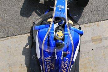 World © Octane Photographic Ltd. Formula 1 - Winter Test 1. Marcus Ericsson - Sauber F1 Team C36. Circuit de Barcelona-Catalunya. Monday 27th February 2017. Digital Ref :1780CB1D2783