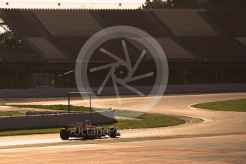 World © Octane Photographic Ltd. Formula 1 - Winter Test 1. Sebastian Vettel - Scuderia Ferrari SF70H. Circuit de Barcelona-Catalunya. Monday 27th February 2017. Digital Ref :1780CB1D3374