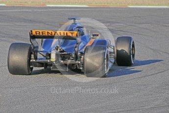 World © Octane Photographic Ltd. Formula 1 - Winter Test 1. Nico Hulkenberg - Renault Sport F1 Team R.S.17. Circuit de Barcelona-Catalunya. Monday 27th February 2017. Digital Ref : 1780CB1D3477
