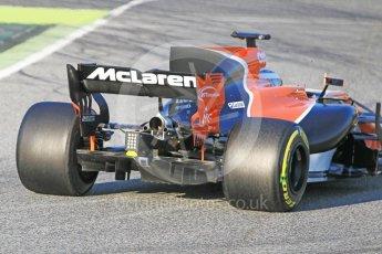 World © Octane Photographic Ltd. Formula 1 - Winter Test 1. Fernando Alonso - McLaren Honda MCL32. Circuit de Barcelona-Catalunya. Monday 27th February 2017. Digital Ref : 1780CB1D3482