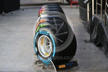 World © Octane Photographic Ltd. Formula 1 winter test 1, Pirelli 2017 specification tyres,Circuit de Barcelona-Catalunya. Monday 27th February 2017. Digital Ref :1780CB1D5963