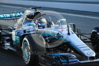 World © Octane Photographic Ltd. Formula 1 winter test 1, Mercedes AMG Petronas F1 W08 EQ Energy+ - Valtteri Bottas. Circuit de Barcelona-Catalunya. Monday 27th February 2017. Digital Ref :1780CB1D6120