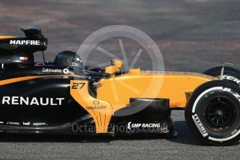 World © Octane Photographic Ltd. Formula 1 winter test 1, Renault Sport F1 Team R.S.17 – Nico Hulkenberg, Circuit de Barcelona-Catalunya. Monday 27th February 2017. Digital Ref :1780CB1D6224