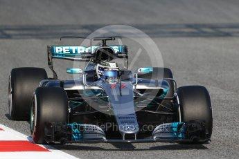 World © Octane Photographic Ltd. Formula 1 winter test 1, Mercedes AMG Petronas F1 W08 EQ Energy+ - Valtteri Bottas. Circuit de Barcelona-Catalunya. Monday 27th February 2017. Digital Ref :1780CB1D6369