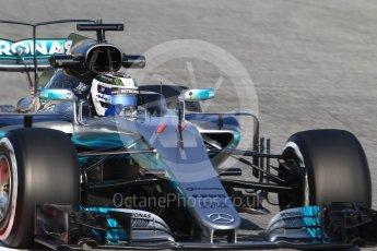 World © Octane Photographic Ltd. Formula 1 winter test 1, Mercedes AMG Petronas F1 W08 EQ Energy+ - Valtteri Bottas. Circuit de Barcelona-Catalunya. Monday 27th February 2017. Digital Ref :1780CB1D6401