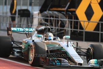 World © Octane Photographic Ltd. Formula 1 - Winter Test 1. Valtteri Bottas - Mercedes AMG Petronas F1 W08 EQ Energy+. Circuit de Barcelona-Catalunya. Monday 27th February 2017. Digital Ref : 1780LB1D8243