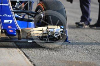 World © Octane Photographic Ltd. Formula 1 - Winter Test 1. Marcus Ericsson - Sauber F1 Team C36. Circuit de Barcelona-Catalunya. Monday 27th February 2017. Digital Ref : 1780LB1D8261