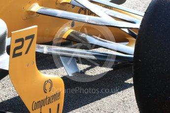 World © Octane Photographic Ltd. Formula 1 - Winter Test 1. Nico Hulkenberg - Renault Sport F1 Team R.S.17. Circuit de Barcelona-Catalunya. Monday 27th February 2017. Digital Ref : 1780LB1D8418