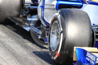 World © Octane Photographic Ltd. Formula 1 - Winter Test 1. Marcus Ericsson - Sauber F1 Team C36. Circuit de Barcelona-Catalunya. Monday 27th February 2017. Digital Ref : 1780LB1D8454