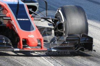 World © Octane Photographic Ltd. Formula 1 - Winter Test 1. Kevin Magnussen - Haas F1 Team VF-17. Circuit de Barcelona-Catalunya. Monday 27th February 2017. Digital Ref : 1780LB1D8498