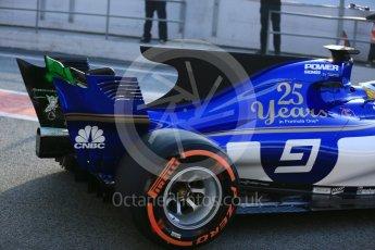 World © Octane Photographic Ltd. Formula 1 - Winter Test 1. Marcus Ericsson - Sauber F1 Team C36. Circuit de Barcelona-Catalunya. Monday 27th February 2017. Digital Ref : 1780LB5D7558
