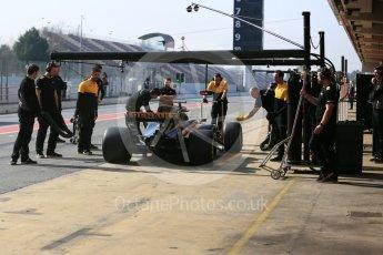 World © Octane Photographic Ltd. Formula 1 - Winter Test 1. Marcus Ericsson - Sauber F1 Team C36. Circuit de Barcelona-Catalunya. Monday 27th February 2017. Digital Ref : 1780LB5D7706