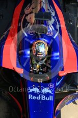 World © Octane Photographic Ltd. Formula 1 - Winter Test 1. Carlos Sainz - Scuderia Toro Rosso STR12. Circuit de Barcelona-Catalunya. Monday 27th February 2017. Digital Ref : 1780LB5D7801