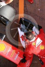 World © Octane Photographic Ltd. Formula 1 - Winter Test 1. Sebastian Vettel - Scuderia Ferrari SF70H. Circuit de Barcelona-Catalunya. Monday 27th February 2017. Digital Ref : 1780LB5D7915
