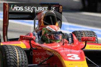World © Octane Photographic Ltd. FIA Formula 2 (F2) - Practice. Louis Deletraz – Racing Engineering. Circuit de Barcelona - Catalunya, Spain. Friday 12th May 2017. Digital Ref: 1811CB7D4398