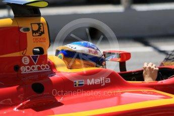 World © Octane Photographic Ltd. FIA Formula 2 (F2) - Practice. Gustav Malja – Racing Engineering. Circuit de Barcelona - Catalunya, Spain. Friday 12th May 2017. Digital Ref: 1811CB7D4416