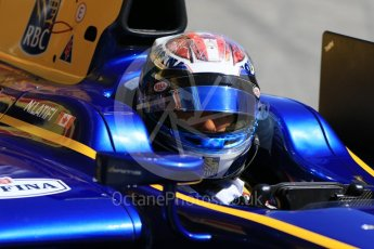 World © Octane Photographic Ltd. FIA Formula 2 (F2) - Practice. Nicolas Latifi – DAMS. Circuit de Barcelona - Catalunya, Spain. Friday 12th May 2017. Digital Ref:1811CB7D4439