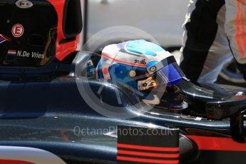 World © Octane Photographic Ltd. FIA Formula 2 (F2) - Practice. Nyck de Vries – Rapax. Circuit de Barcelona - Catalunya, Spain. Friday 12th May 2017. Digital Ref:1811CB7D4475