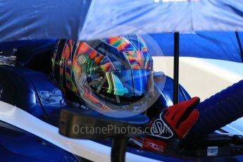 World © Octane Photographic Ltd. FIA Formula 2 (F2) - Practice. Artem Markelov – Russian Time. Circuit de Barcelona - Catalunya, Spain. Friday 12th May 2017. Digital Ref: 1811CB7D4597