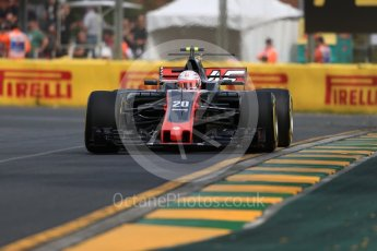 World © Octane Photographic Ltd. Formula 1 - Australian Grand Prix - Practice 1. Kevin Magnussen - Haas F1 Team VF-17. Albert Park Circuit. Friday 24th March 2017. Digital Ref: 1793LB1D0947
