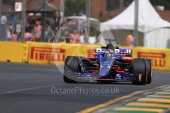 World © Octane Photographic Ltd. Formula 1 - Australian Grand Prix - Practice 1. Daniil Kvyat - Scuderia Toro Rosso STR12. Albert Park Circuit. Friday 24th March 2017. Digital Ref: 1793LB1D0993