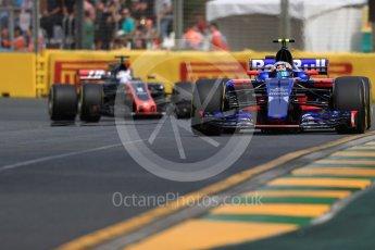 World © Octane Photographic Ltd. Formula 1 - Australian Grand Prix - Practice 1. Carlos Sainz - Scuderia Toro Rosso STR12. Albert Park Circuit. Friday 24th March 2017. Digital Ref: 1793LB1D1318