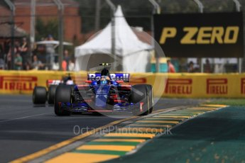 World © Octane Photographic Ltd. Formula 1 - Australian Grand Prix - Practice 1. Carlos Sainz - Scuderia Toro Rosso STR12. Albert Park Circuit. Friday 24th March 2017. Digital Ref: 1793LB1D1628