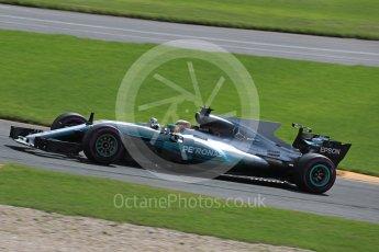 World © Octane Photographic Ltd. Formula 1 - Australian Grand Prix - Practice 1. Lewis Hamilton - Mercedes AMG Petronas F1 W08 EQ Energy+. Albert Park Circuit. Friday 24th March 2017. Digital Ref: 1793LB1D2031