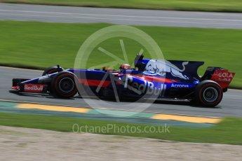 World © Octane Photographic Ltd. Formula 1 - Australian Grand Prix - Practice 1. Daniil Kvyat - Scuderia Toro Rosso STR12. Albert Park Circuit. Friday 24th March 2017. Digital Ref: 1793LB1D2067