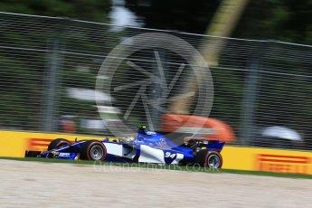 World © Octane Photographic Ltd. Formula 1 - Australian Grand Prix - Practice 1. Pascal Wehrlein – Sauber F1 Team C36. Albert Park Circuit. Friday 24th March 2017. Digital Ref: 1793LB2D4230