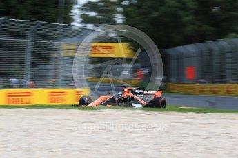 World © Octane Photographic Ltd. Formula 1 - Australian Grand Prix - Practice 1. Fernando Alonso - McLaren Honda MCL32. Albert Park Circuit. Friday 24th March 2017. Digital Ref: 1793LB2D4331