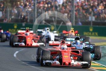 World © Octane Photographic Ltd. Formula 1 - Australian Grand Prix - Race. Lewis Hamilton - Mercedes AMG Petronas F1 W08 EQ Energy+. Albert Park Circuit. Sunday 26th March 2017. Digital Ref: 1802LB1D5993