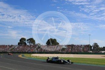World © Octane Photographic Ltd. Formula 1 - Australian Grand Prix - Race. Lewis Hamilton - Mercedes AMG Petronas F1 W08 EQ Energy+. Albert Park Circuit. Sunday 26th March 2017. Digital Ref: 1802LB1D6424