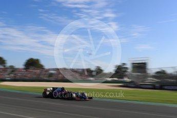World © Octane Photographic Ltd. Formula 1 - Australian Grand Prix - Race. Carlos Sainz - Scuderia Toro Rosso STR12. Albert Park Circuit. Sunday 26th March 2017. Digital Ref: 1802LB1D6451