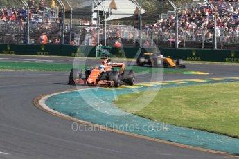 World © Octane Photographic Ltd. Formula 1 - Australian Grand Prix - Race. Fernando Alonso - McLaren Honda MCL32. Albert Park Circuit. Sunday 26th March 2017. Digital Ref: 1802LB1D6514