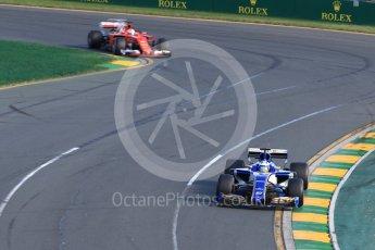 World © Octane Photographic Ltd. Formula 1 - Australian Grand Prix - Race. Marcus Ericsson – Sauber F1 Team C36. Albert Park Circuit. Sunday 26th March 2017. Digital Ref: 1802LB1D6782