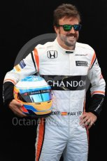 World © Octane Photographic Ltd. Formula 1 - Australian Grand Prix - FIA Driver Photo Call. Fernando Alonso - McLaren Honda MCL32. Albert Park Circuit. Thursday 23rd March 2017. Digital Ref: 1790LB1D8340