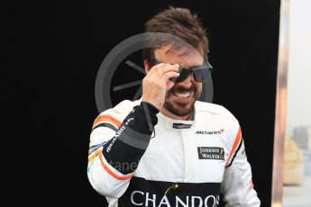 World © Octane Photographic Ltd. Formula 1 - Australian Grand Prix - FIA Driver Photo Call. Fernando Alonso - McLaren Honda MCL32. Albert Park Circuit. Thursday 23rd March 2017. Digital Ref: 1790LB1D8405