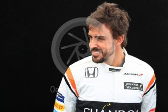 World © Octane Photographic Ltd. Formula 1 - Australian Grand Prix - FIA Driver Photo Call. Fernando Alonso - McLaren Honda MCL32. Albert Park Circuit. Thursday 23rd March 2017. Digital Ref: 1790LB1D8419
