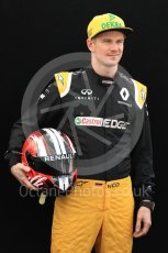 World © Octane Photographic Ltd. Formula 1 - Australian Grand Prix - FIA Driver Photo Call. Nico Hulkenberg - Renault Sport F1 Team R.S.17. Albert Park Circuit. Thursday 23rd March 2017. Digital Ref: 1790LB1D8615