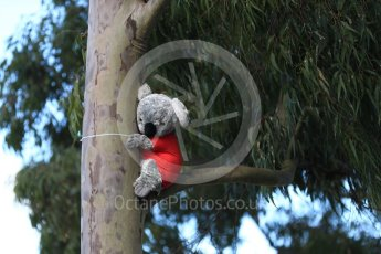 World © Octane Photographic Ltd. Formula 1 - Australian Grand Prix - Thursday - Koloa on the Melbourne Walk. Albert Park Circuit. Thursday 23rd March 2017. Digital Ref: 1789LB1D7862