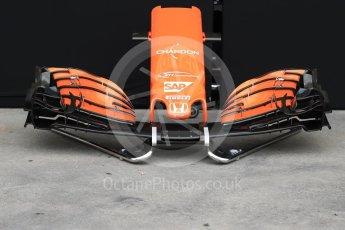 World © Octane Photographic Ltd. Formula 1 - Australian Grand Prix - Wednesday Setup. McLaren Honda MCL32. Albert Park Circuit. Wednesday 22nd March 2017. Digital Ref: 1788LB1D7725