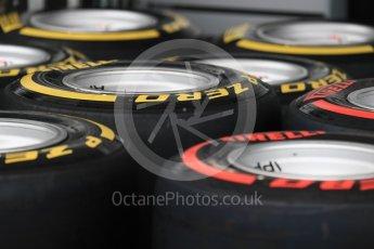 World © Octane Photographic Ltd. Formula 1 - Australian Grand Prix - Wednesday Setup. Tyres. Albert Park Circuit. Wednesday 22nd March 2017. Digital Ref: 1788LB1D7741