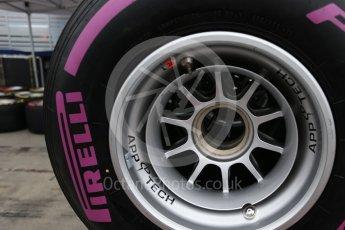World © Octane Photographic Ltd. Formula 1 - Australian Grand Prix - Wednesday Setup. Tyres. Albert Park Circuit. Wednesday 22nd March 2017. Digital Ref: 1788LB2D3953
