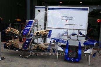 World © Octane Photographic Ltd. Formula 1 - Australian Grand Prix - Wednesday Setup. Sauber F1 Team C36. Albert Park Circuit. Wednesday 22nd March 2017. Digital Ref: 1788LB2D3955