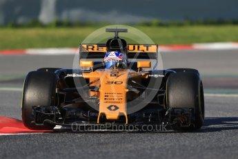 World © Octane Photographic Ltd. Formula 1 - Winter Test 2. Jolyon Palmer - Renault Sport F1 Team R.S.17. Circuit de Barcelona-Catalunya. Tuesday 7th March 2017. Digital Ref :1784CB1D0348