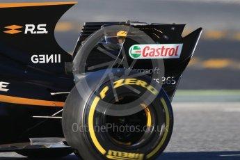 World © Octane Photographic Ltd. Formula 1 - Winter Test 2. Jolyon Palmer - Renault Sport F1 Team R.S.17. Circuit de Barcelona-Catalunya. Tuesday 7th March 2017. Digital Ref :1784CB1D0352