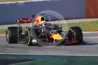 World © Octane Photographic Ltd. Formula 1 - Winter Test 2. Daniel Ricciardo - Red Bull Racing RB13. Circuit de Barcelona-Catalunya. Tuesday 7th March 2017. Digital Ref :1784CB1D0432
