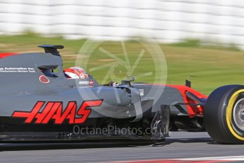 World © Octane Photographic Ltd. Formula 1 - Winter Test 2. Kevin Magnussen - Haas F1 Team VF-17. Circuit de Barcelona-Catalunya. Tuesday 7th March 2017. Digital Ref: 1784CB1D0997